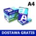 Papier ksero A4 Double A Premium 100g, 14,11 zł netto/ryza (PALETA). DOSTAWA GRATIS!