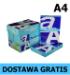 Papier ksero A4 Double A 70g Everyday, 9,47 zł netto/ryza (PALETA). DOSTAWA GRATIS!