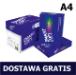Papier ksero A4 Smart Copy 75g, 9,47 zł netto za ryzę (PALETA). DOSTAWA GRATIS!