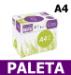 Papier A4 Ksero Rey Copy 80g  9,04 zł netto za ryzę - PALETA (60 kartonów A4)