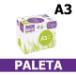 Papier A3 Ksero Rey Copy 80g - 20,10 zł netto za ryzę (PALETA)